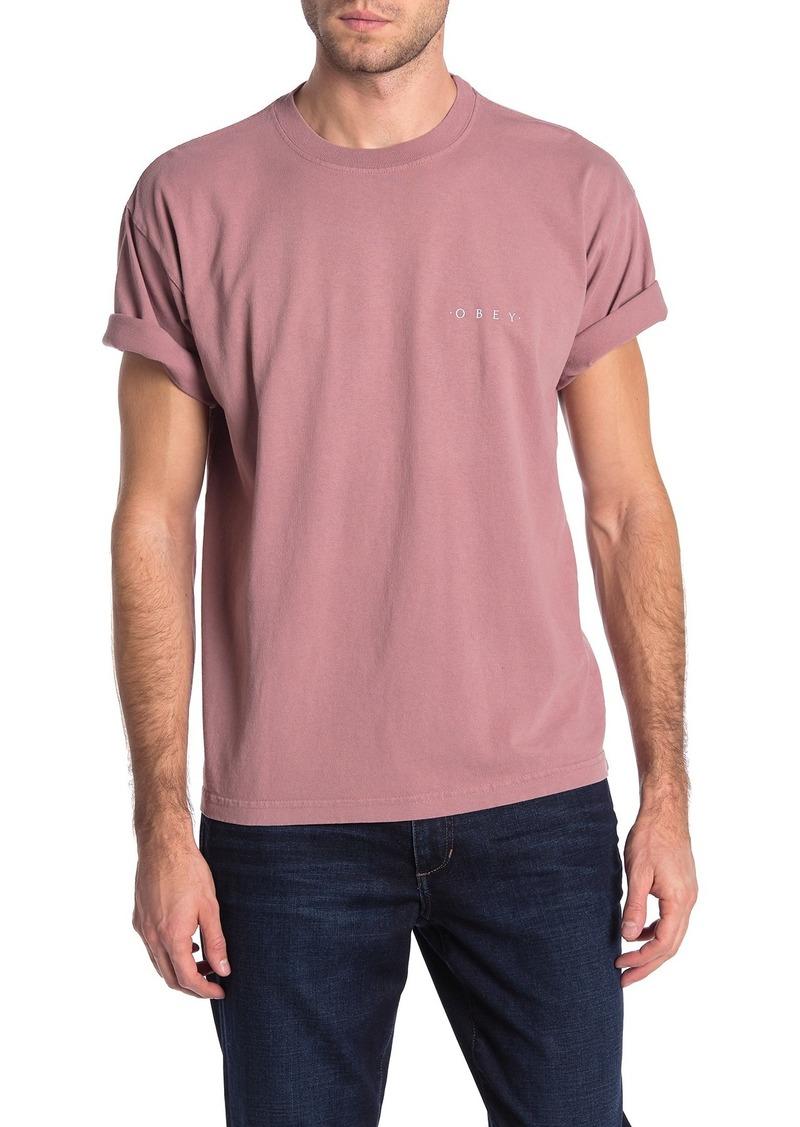 Obey Novel Short Sleeve T-Shirt