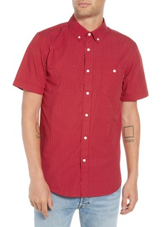 Obey Alan Patterned Woven Shirt