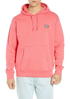 Obey All Eyez Appliquéd Hooded Sweatshirt