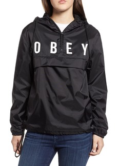 Obey Anyway Hooded Anorak