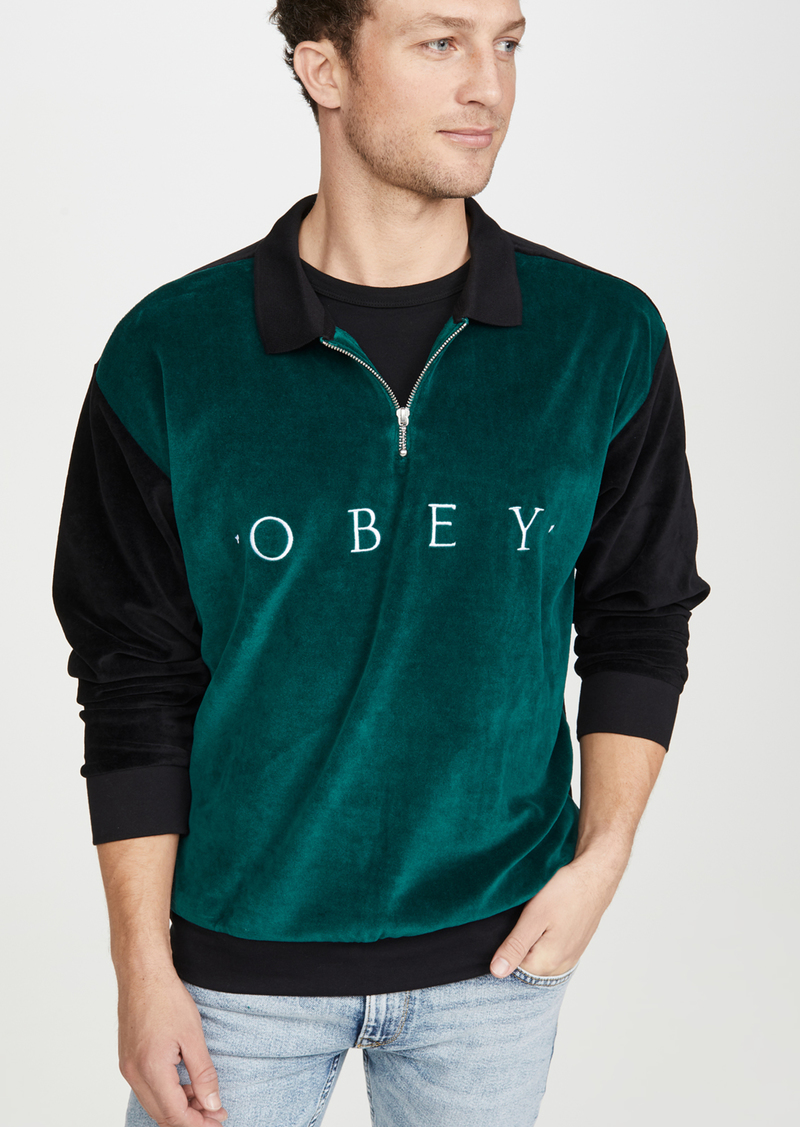 Obey Avenue Zip Polo