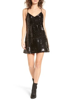 Obey Bigby Sequin Slipdress