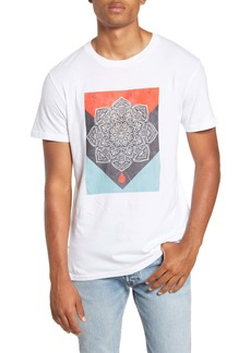 Obey Blood & Oil Mandala Crewneck T-Shirt