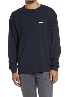 Obey Bold Logo Long Sleeve Graphic Tee