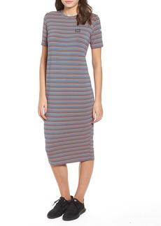 Obey Bowery Stripe T-Shirt Dress