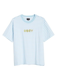 Obey Buggs Stripe T-Shirt