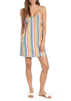 Obey Carmen Stripe Slipdress