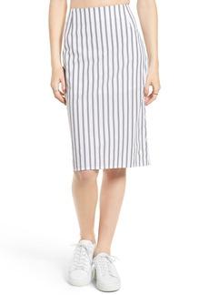 Obey Chambers Stripe Skirt