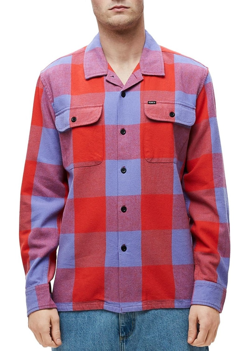 OBEY Check Slim Fit Shirt