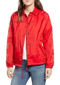 Obey Core Varsity Coach's Jacket