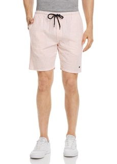 OBEY Cypress Seersucker Striped Regular Fit Shorts