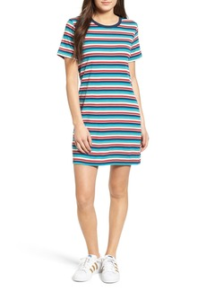 Obey Darkside Stripe T-Shirt Dress
