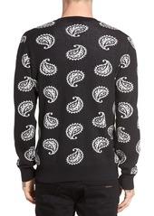 Obey Duren Paisley Sweater