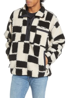 Obey Echo Fleece Half Zip Pullover