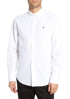 Obey Eighty Nine Logo Appliqué Sport Shirt