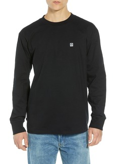 Obey Eighty-Nine Solid Box Long Sleeve T-Shirt