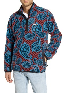 Obey Eisley Half Zip Fleece Pullover