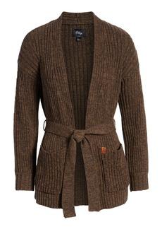 Obey Eleanor Rib Knit Cardigan