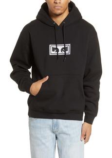Obey Eyes Appliqué Hooded Sweatshirt