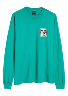 Obey Eyes Icon 2 Long Sleeve Graphic Tee