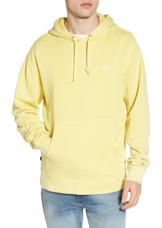 Obey Faded Pigment Dyed Hoodie Sweatshirt
