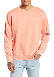 Obey Faded Pigment-Dyed Sweatshirt