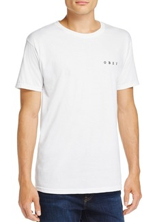 Obey Fight With Words Skull Graphic Crewneck Short Sleeve Tee