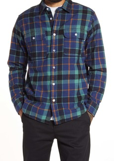 Obey Franklin Woven Button-Down Shirt