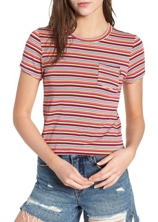 Obey Freeman Stripe Tee