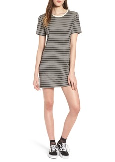 Obey Freya Stripe T-Shirt Dress