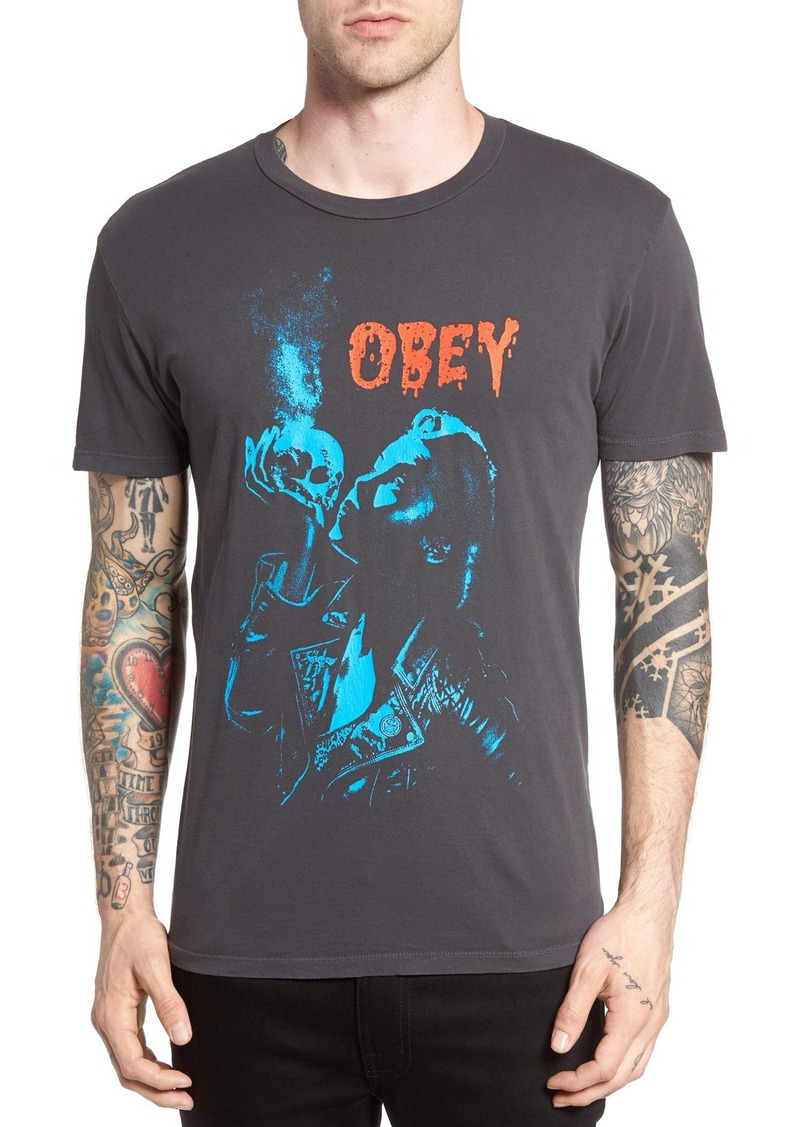 Obey Gimme Danger Graphic T-Shirt