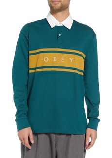 Obey Hero Long Sleeve Polo