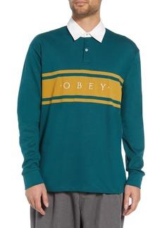 Obey Hero Long Sleeve Polo