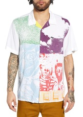 Obey Hitter Print Camp Shirt