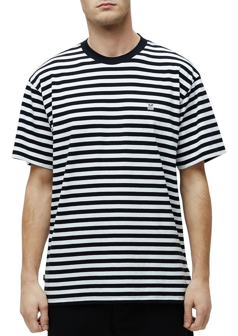 OBEY Icon Box Striped Tee