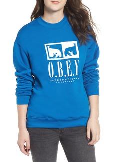 Obey International Conspiracy Sweatshirt