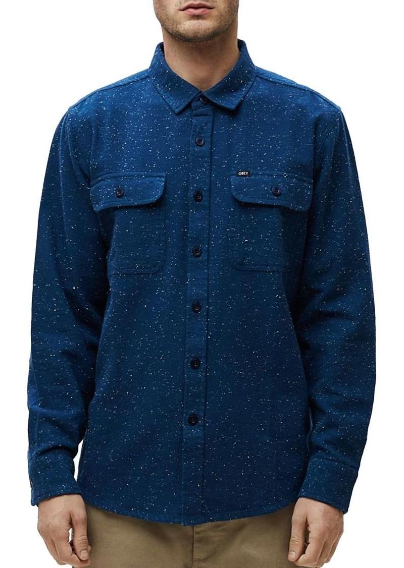 OBEY Jasper Slim Fit Shirt