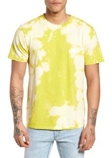 Obey Jumble Lo-Fi Bleach Tie Dye T-Shirt