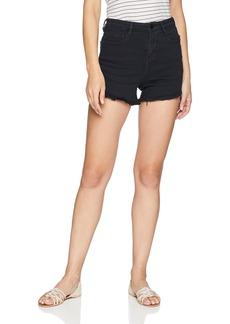 Obey Junior's Alexa High Rise Skinny Fit Denim Short