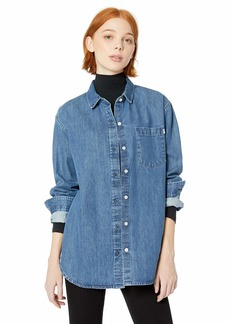 Obey Junior's BENICE Woven Denim Shirt