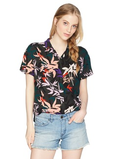 Obey Junior's Calyx Short Sleeve Shirt  L