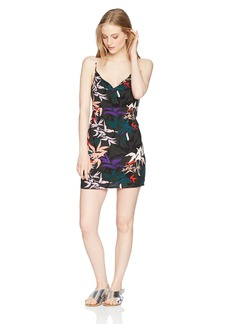 Obey Junior's Calyx Strappy Slip Dress  L