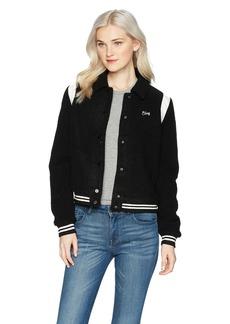 OBEY Junior's Campbell Varisty Jacket  M