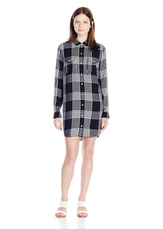 OBEY Junior's Chelsea Shirtdress  L