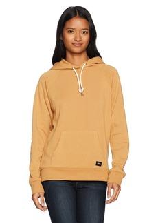 OBEY Junior's Comfy Pullover Hooded Fleece Sweatshirt  L
