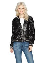 OBEY Junior's Dag Sequin Jacket  L