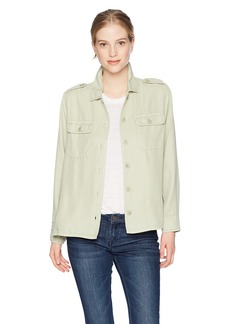 Obey Junior's Davy Military Shirt Jacket  L