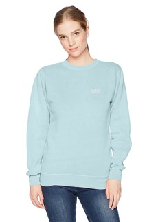 Obey Junior's Flashback Long Sleeve Premium Sweatshirt  XS