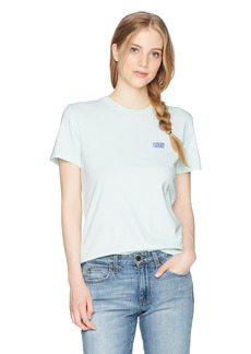 Obey Junior's Flashback Short Sleeve Classic Crew Neck Tee  L