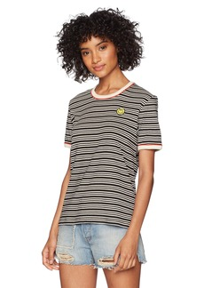 Obey Junior's Freya Ringer Top  S
